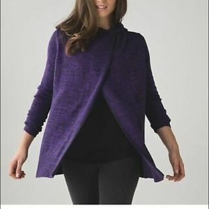 Lululemon Peace Of Mind Wrap Cardigan size 10.